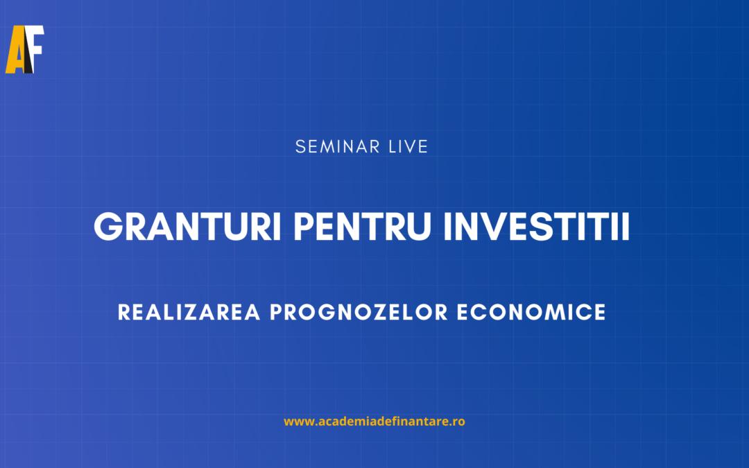 Granturi pentru investiții: Realizarea prognozelor și calculul RIR