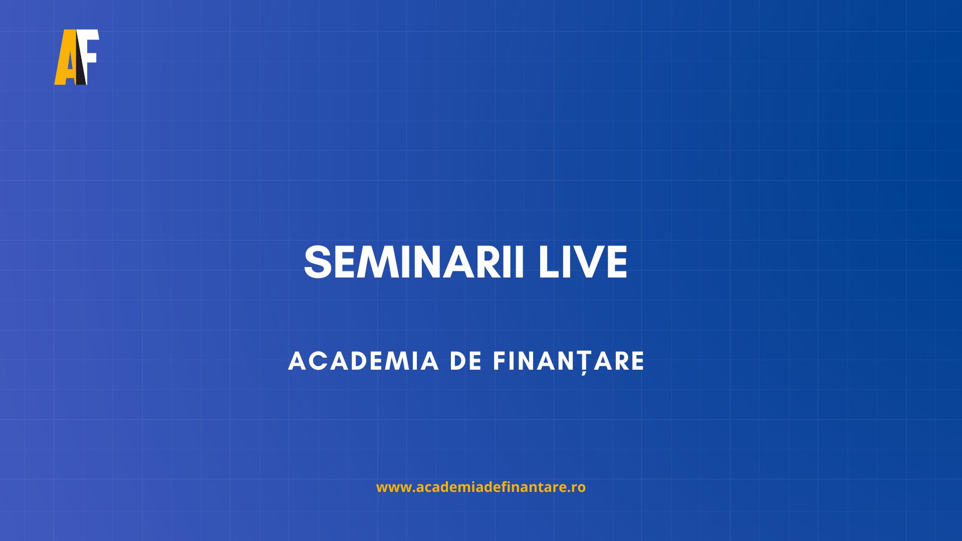 seminarii gratuite fonduri europene